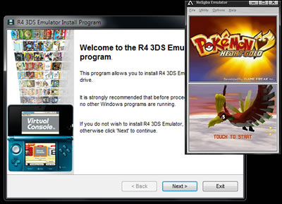 Click to view R4 3DS Emulator 1.4 screenshot